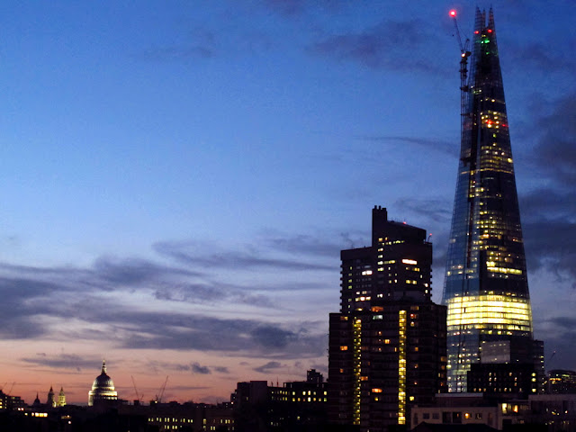 The Shard Plaza - tallest skyscraper in Europe