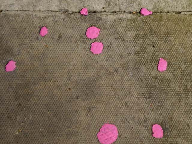 chewing gum deposits
