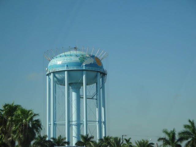 Hollywood Water Tower