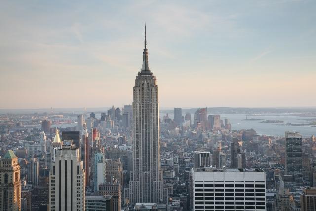 Empire State Building windows washing