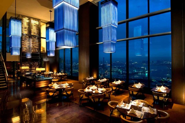 Beautiful luxury restaurant