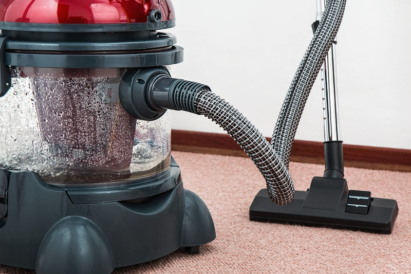 Floor equipment electrical housework dust machine