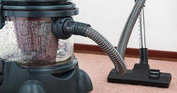 Floor equipment electrical housework dust machine